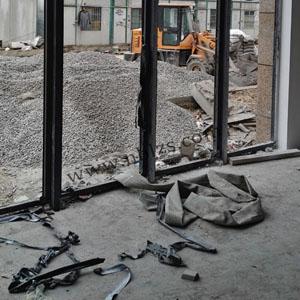 铝合金门窗施工安装