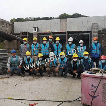 国防空博览园_石材幕墙改造工程